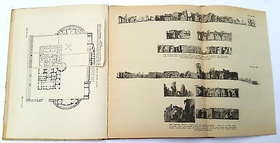 """1939 Charles Cameron Architect """"TERMS of ROMANS"""" Illustrated Book Russian Edit. 6"""