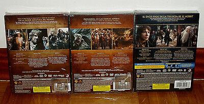 El Hobbit La Trilogia Edicion Extendida 15 Dvd Nuevo Precintado (Sin Abrir) R2 2