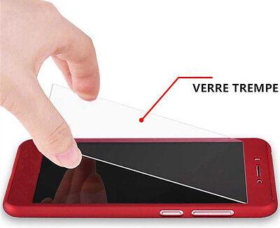 Etui Coque Housse + Film Verre Trempe Protection Integrale 360° Samsung Galaxy