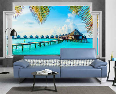 Concise Glorious Sea 3D Full Wall Mural Photo Wallpaper Printing Home Kids Decor 3