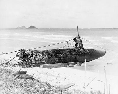 6-Captured Japanese Navy Fleet WW2 Films Submarine I-30 7