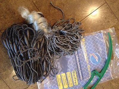 Finland Netz 1,8x15 m,50 mm Stellnetz,Fischnetz,Spiegelnetz,3 Wandig