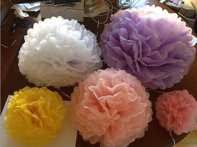 tissue paper pom poms for baby living room party wedding decoration home pompoms