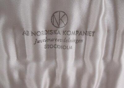 Askel Holmsen Boxed Set Of Sterling Silver Demitasse Spoons Norwegian Landscape 2