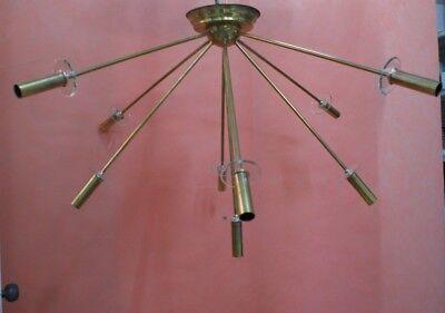 Sputnik 9 LUCI design 50 60 Stilnovo arredoluce arteluce gauriche meulle Ottone 5