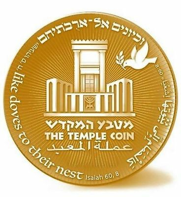 2018 70 Yrs King Cyrus Donald Trump Jewish Temple Coin authentic Big Sale WOW 3