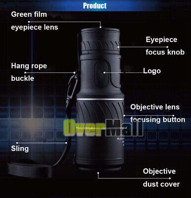 40X60 Binoculars with Night Vision BAK4 Prism High Power Waterproof 4