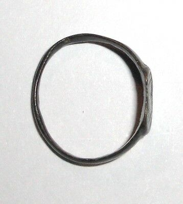 Medieval Bronze Ring, Jewelry Artifact 3
