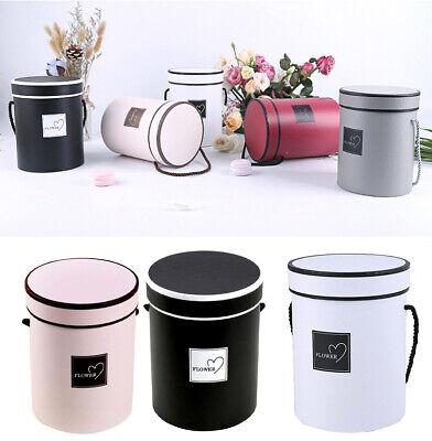 Handheld Bouquet Flower Boxes Round Living Vases Florist Box Plant Boxes Fashion 3