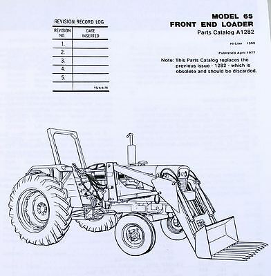 J i case model 65 front end loader tractor parts assembly manual 1 of 7free shipping j i case model 65 front end loader tractor parts assembly manual catalog fandeluxe Choice Image