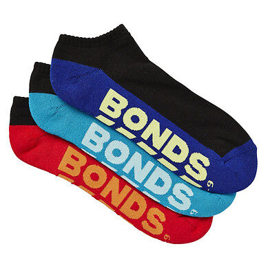 10 Pairs Brand New Bonds Men's Sports Ankle Low Cut Running Socks Sz 6 10 11 14 3