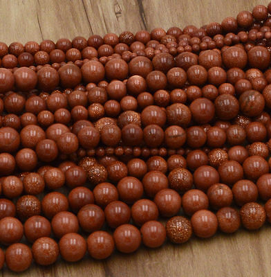 New Wholesale Natural Gemstone Round Spacer Loose Beads 4MM 6MM 8MM 10MM 12MM 10
