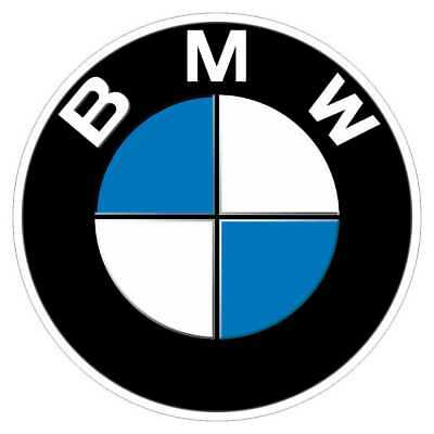 Sticker rétro réfléchissant BMW pour casque Nine T GS GT - 6,5cm x 6,5cm 2