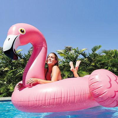 Isola gonfiabile Grande Fenicottero Intex 56288 giochi cavalcabili piscina Rotex 2