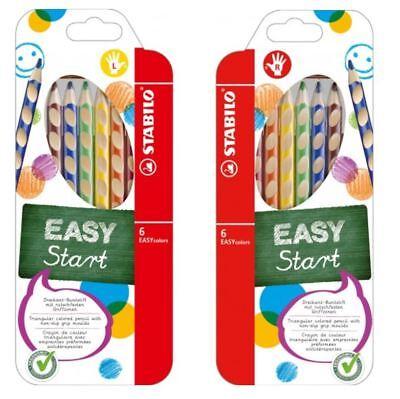 Dreikant 6er Etui Stabilo Buntstifte Easycolors Stifte Holzbuntstift Rh