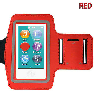 Sports Gym Running Armband Arm Case Band Cover for Apple iPod Nano 7 7th Gen