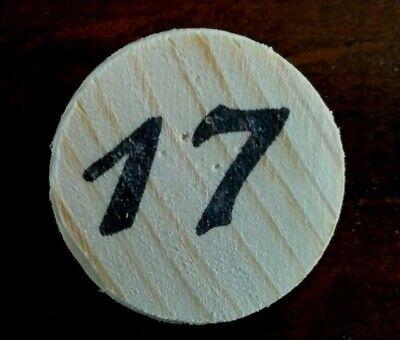 Eselspiel ~ 121 Spielsteine aus Holz ~ Alles Handarbeit Neu 6