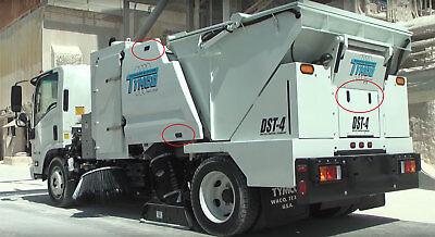 12777 Tymco Levier Loquet Compression sans Verrouillage pour 435/DST4 Sweeper 8