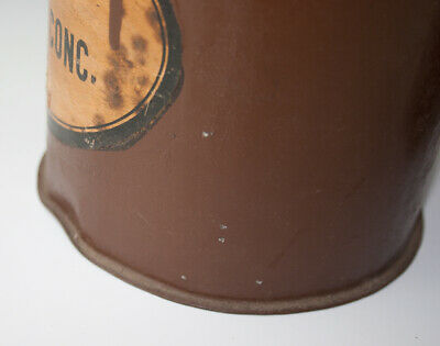 2 x Gefäße aus Blech RADIX EBULI CONC. + FOL. BUCCO wohl um 1920 6