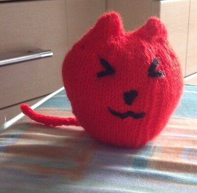 Urgent Appeal For Sick Kitten - Hand Knitted Catnip Miaow Toy 3
