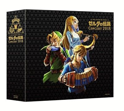 THE LEGEND OF ZELDA CONCERT 2018 Limited Edition 2CD + BLU-RAY JAPAN Tracking 2