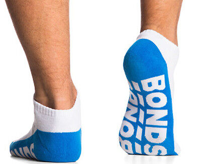 10 Pairs Brand New Bonds Men's Sports Ankle Low Cut Running Socks Sz 6 10 11 14 8