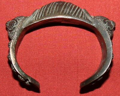 Ancient Medieval Greek Handcrafted Crusader Bronze Fertility Folk Bracelet