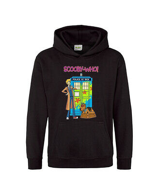 Scooby Doo Doctor Who Kids Adult Men Unisex Hoodie Funny TV Hoody Gift Sweatshir