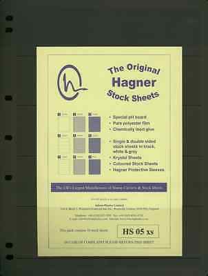 Hagner Single Sided Stamp Album Stock Pages 7