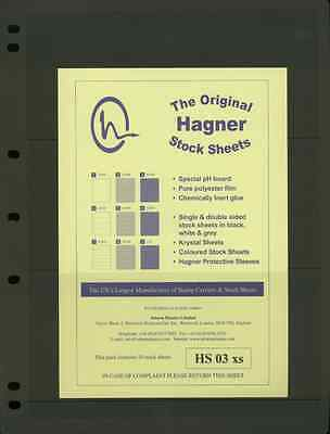Hagner Single Sided Stamp Album Stock Pages 4