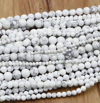 New Wholesale Natural Gemstone Round Spacer Loose Beads 4MM 6MM 8MM 10MM 12MM 9