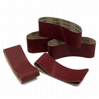 "75x457mm Sanding Belts 40~1000 Grit 3""x18""  For Wood Metal Grinding Sander Tool"