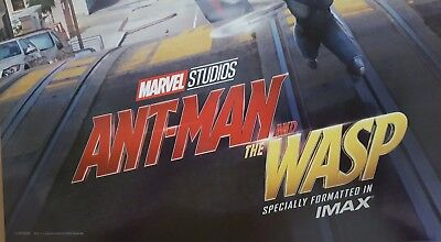 """Marvel Studios ANT-MAN AND THE WASP Official Movie 13"""" x 19""""  IMAX Poster-HTF 7"""