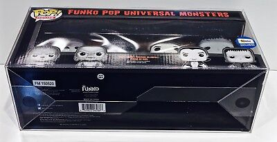 1 Box Protector For FUNKO POP! 4 PACKS   READ!  Clear Custom Made Display Case 5