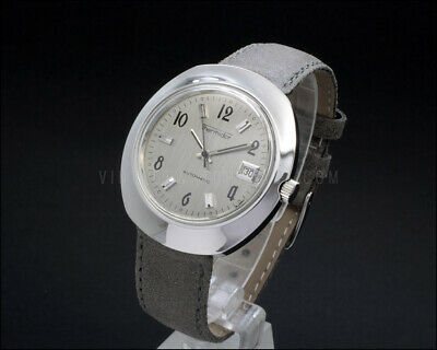 NEW OLD STOCK 38mm Fancy shape THERMIDOR automatic vintage