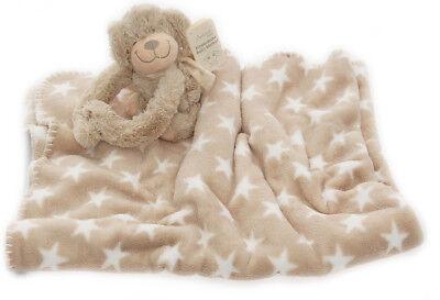 Baby Kuscheldecke Baby Decke Kuscheltier Stofftier Schmusedecke Cl