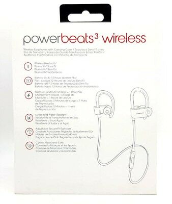 Genuine BEATS BY DR DRE Powerbeats3 Wireless Headphones Sport Earphones Headset 6