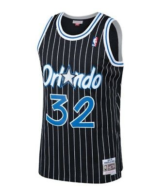 757de9bf ... Shaquille Oneal Orlando Magic Mitchell & Ness Mesh NBA Swingman Jersey  Black 2