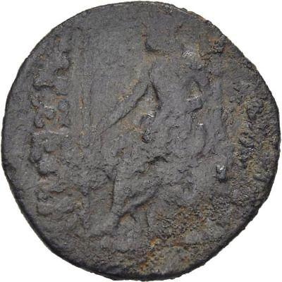 Ancient Greece 164-27 BC CILICIA TARSOS Tyche ZEUS THRONE cntmk-Bow 2
