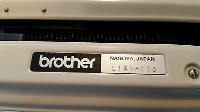 Brother Deluxe 1510 Typewriter In Case 9