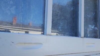 VINTAGE SASH ANTIQUE WOOD WINDOW 26x28 6 PANE DOUBLE PANE 6 PANE PICTURE FRAME 2