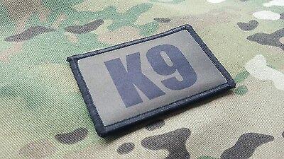 K9 Handler OD Green and Gold Morale Patch Set Sheriff Border Patrol SWAT