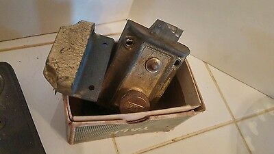 Vintage Antique Mixed Salvaged Rustic Doorknobs Latches Faceplates Corbin Yale +