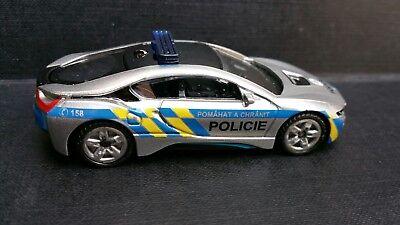 Siku 1458 Auslandsmodell Werbemodell Polizei Tschechien BMW I8 neu OVP