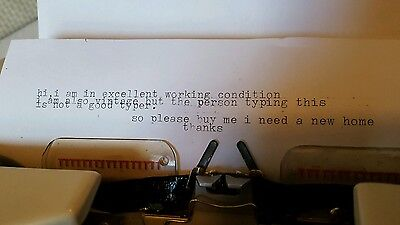 Brother Deluxe 1510 Typewriter In Case 10