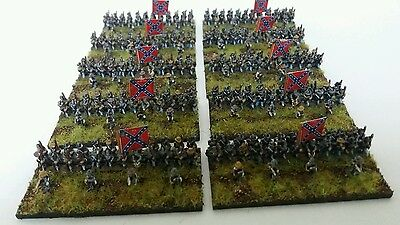 6MM AMERICAN CIVIL War Infantry Baccus Booster Pack