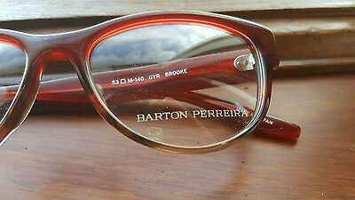 c09680ce73 ... Barton Perreira Eyeglasses New Eyewear Frame Optical Glasses Original  Mod Brooke 3