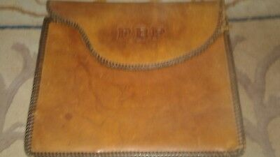Vintage Quack Medicine Szolerie Test In Monogramed Leather Case Extremely Rare 2