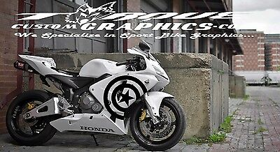 stickers BURN-Sport bike Graphics motorcycle decals