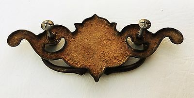 """Gorgeous...Chippendale Antique Drawer Pulls Architectural Hardware 3 """" on center 7"""